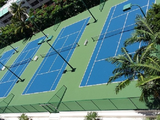 Tennis & Racquetball Courts