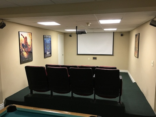 Game Room & Theater